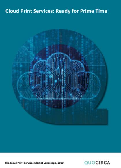 qocirca Cloud Services Landscape 2020 report