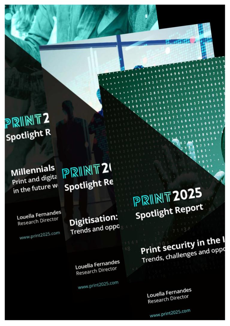 Report bundle - Print 2025 spotlight research reports