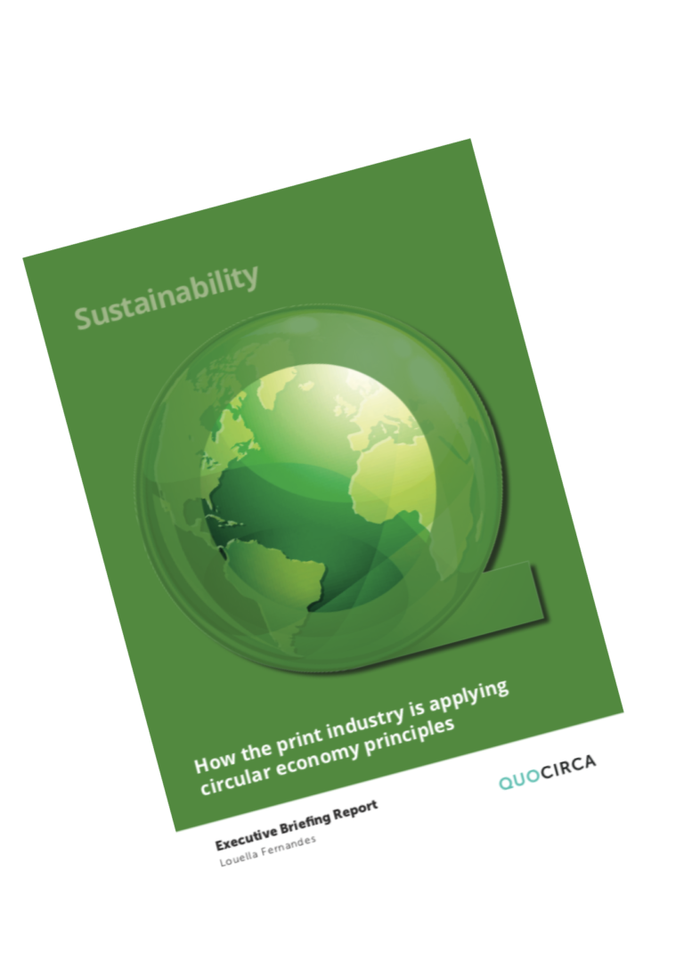 sustainability and the print industry